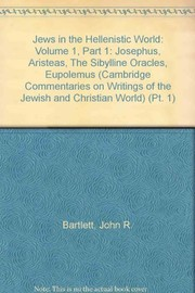 Cover of: Jews in the Hellenistic world | John R. Bartlett