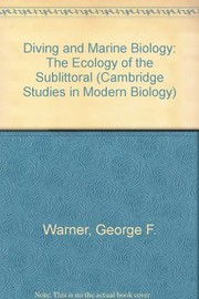 Cover of: Diving and marine biology | Warner, George F.