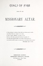 Cover of: Coals of fire from off the missionary altar | William Morley Punshon