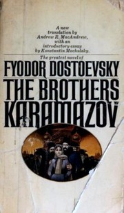 Cover of: The Brothers Karamazov | Fyodor Mikhailovich Dostoevsky