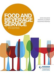 Cover of: Food & Beverage Service, 9th edition | John Cousins