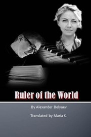 Cover of: Ruler of the World