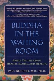 Cover of: Buddha in the Waiting Room | Paul Brenner