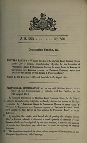 Cover of: Specification of William Brooke | William Brown Brooke