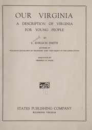 Cover of: Our Virginia | Smith, Edward Ehrlich