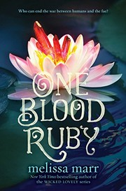 Cover of: One Blood Ruby (Seven Black Diamonds)