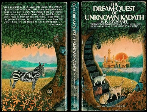 The Dream-Quest of Unknown Kadath (Ballantine Adult Fantasy Series) by H. P. Lovecraft