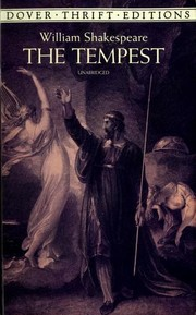 Cover of: The Tempest | William Shakespeare