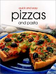 Cover of: Quick & Easy Pizzas and Pasta | Richard Carroll