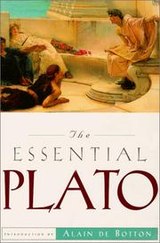 Cover of: Essential Plato