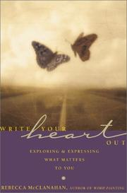 Cover of: Write your heart out