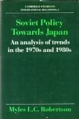 Cover of: Soviet policy towards Japan | Myles L. C. Robertson
