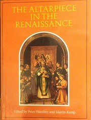 Cover of: The Altarpiece in the Renaissance