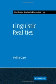 Cover of: Linguistic realities