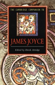 Cover of: The Cambridge companion to James Joyce