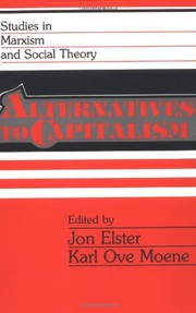 Cover of: Alternatives to capitalism
