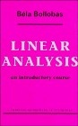Cover of: Linear analysis | BeМЃla BollobaМЃs