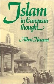 Cover of: Islam in European thought