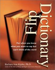 Cover of: Flip Dictionary