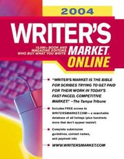 Cover of: 2004 Writer