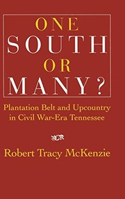 Cover of: One South or many? | Robert Tracy McKenzie