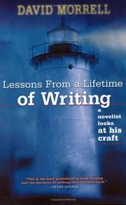 Cover of: Lessons from a lifetime of writing: A Novelist Looks at His Craft