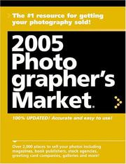 Cover of: 2005 Photographers Market (Photographer