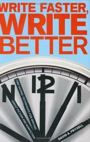Cover of: Write faster, write better | David A. Fryxell