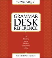 Cover of: The Writer's Digest grammar desk reference