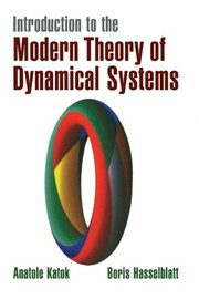 Cover of: Introduction to the modern theory of dynamical systems