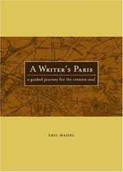 Cover of: A writer's Paris: a guided journey for the creative soul