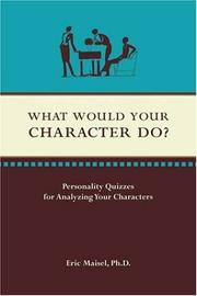 Cover of: What Would Your Character Do?
