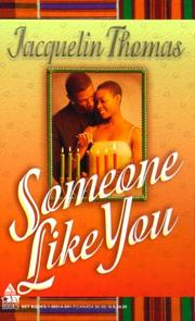 Cover of: Someone Like You