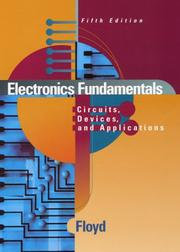 Cover of: Electronics Fundamentals | Thomas L. Floyd