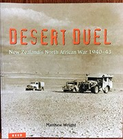 Cover of: Desert duel: New Zealand's North African War, 1940-43