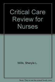 Cover of: Critical care review for nurses |