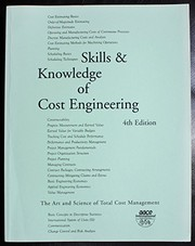 Cover of: Skills & knowledge of cost engineering |