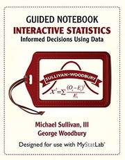 Cover of: Student Guided Notebook for Interactive Statistics: Informed Decisions Using Data