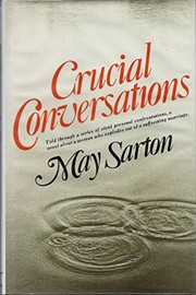 Cover of: Crucial conversations | May Sarton