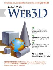 Cover of: Core Web 3D | Aaron E. Walsh, Mikael Bourges-Sevenier