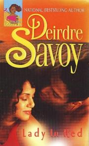 Cover of: Lady in red | Deirdre Savoy