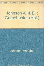 Cover of: Gamebuster | Annabel Johnson