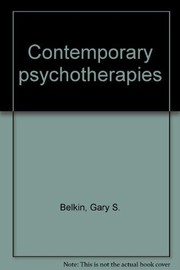 Cover of: Contemporary psychotherapies |
