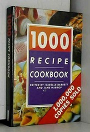 Cover of: 1000 recipe cookbook |