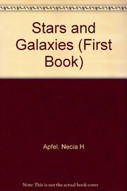 Cover of: Stars and galaxies | Necia H. Apfel