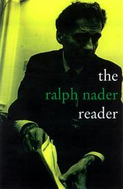 Cover of: The Ralph Nader Reader