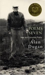 Cover of: Poems seven | Alan Dugan