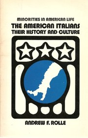Cover of: The American Italians: their history and culture
