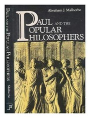 Paul and the popular philosophers
