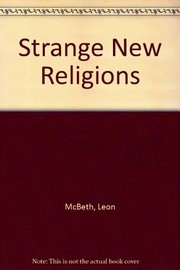 Cover of: Strange new religions